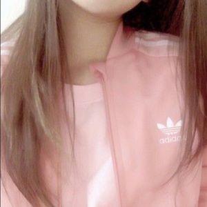 Adidas Originals Pink Track Jacket NWT